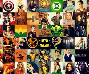 harry potter, batman, and doctor who image