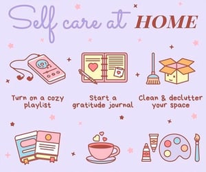 atmosphere, love, and selfcare image