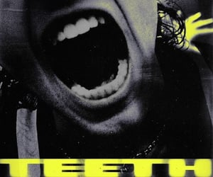 calm, teeth, and cover image