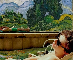 van gogh, armie hammer, and call me by your name image