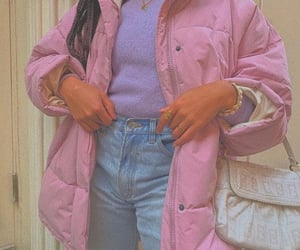 aesthetic, outfit, and pink image