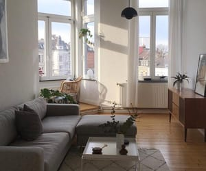 white and apartment image