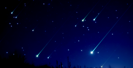 article and meteor shower experience image