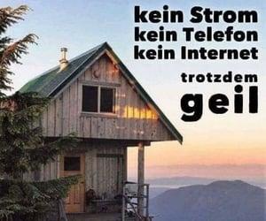 allein, internet, and strom image