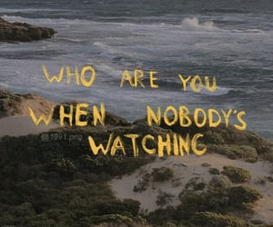 quotes, aesthetic, and beach image