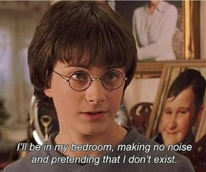 harry potter, quotes, and funny image
