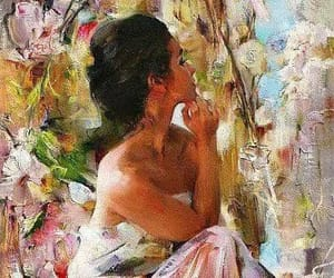beauty, painting, and arte image