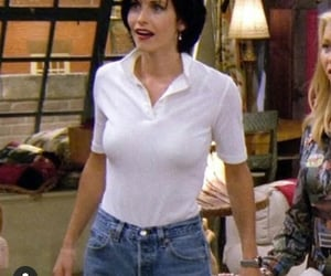 90s, Courteney Cox, and vintage image