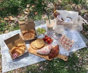 picnic, aesthetic, and food image