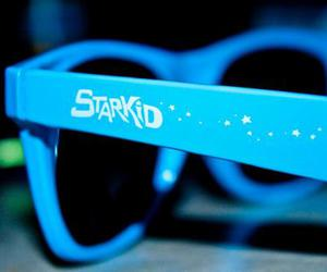 starkid, blue, and glasses image