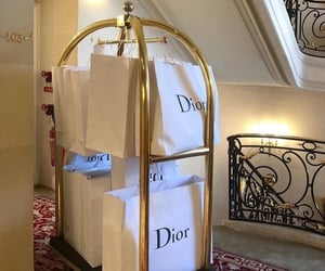 dior, hotel, and luxury image