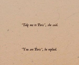 quotes, love, and paris image