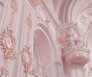 pink, aesthetic, and gold image