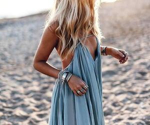 fashion, beach, and beautiful image