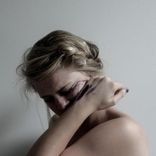 crying, hurt, and sadness image