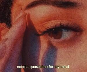 eye, girl, and melancholy image