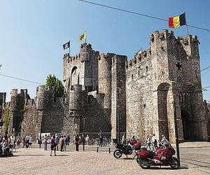 belgium, Ghent, and castle image