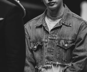 black and white, details, and stray kids image