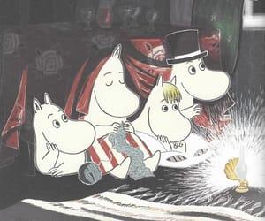 family, moomintroll, and mumin image