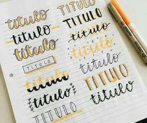 Letter, lettering, and pen image