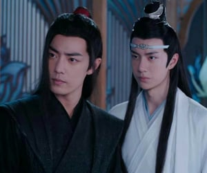 the untamed, wang yibo, and xiao zhan image