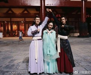 the untamed, xiao zhan, and wei ying image