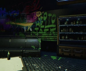 bar, grunge, and paint image