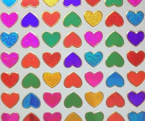 heart, pink, and sticker image