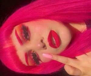 alternative, hot pink, and nails image