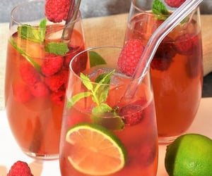 beverages, colorful, and delicious image