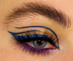 makeup, aesthetic, and art image