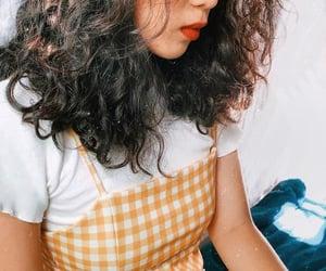 brunette, ootd, and dress image