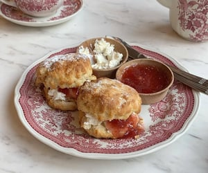 biscuits, jam, and soft image