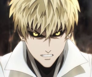 anime, opm, and genos image