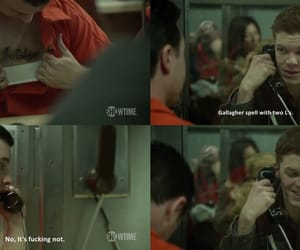funny, shameless, and mickey milkovich image