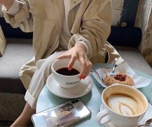 coffee, cafe, and fashion image