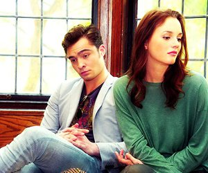 ed westwick, leighton meester, and love image
