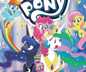 comics, filly, and idw image