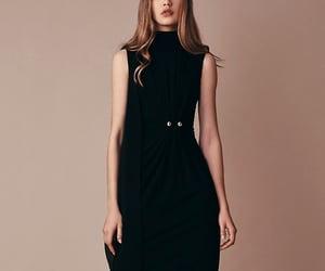 black dress, dress, and fashion image