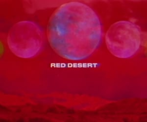 calm, red desert, and 5sos image