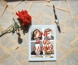 one of us is lying, aesthetic, and books image