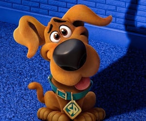 animation, puppy, and scooby doo image