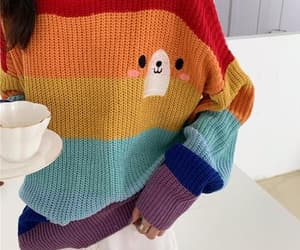 bear, sweater, and cute image