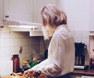 aesthetic, cooking, and skam image