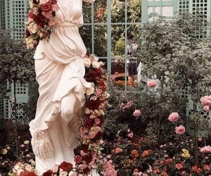 flowers, garden, and art image