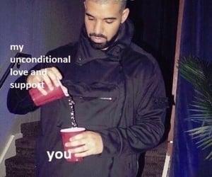 Drake, meme, and love image