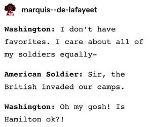 hamilton, georgewashington, and washington image