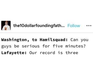hamilton, alexanderhamilton, and hamiltonmemes image