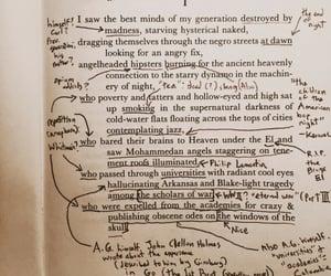 aesthetic, books, and dark academia image