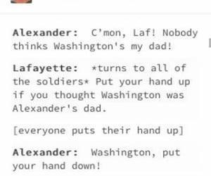 George Washington, hamilton, and john laurens image